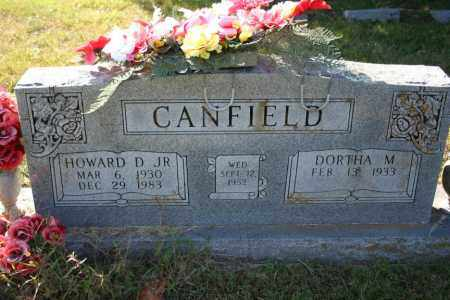 CANFIELD, HOWARD D. JR. - Washington County, Arkansas | HOWARD D. JR. CANFIELD - Arkansas Gravestone Photos