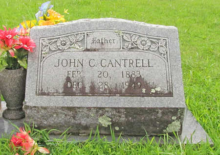 CANTRELL, JOHN C - Washington County, Arkansas | JOHN C CANTRELL - Arkansas Gravestone Photos