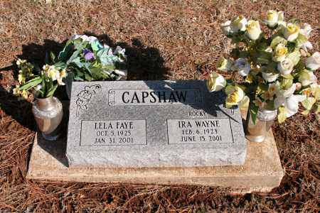 "CAPSHAW, IRA WAYNE ""ROCKY"" - Washington County, Arkansas 