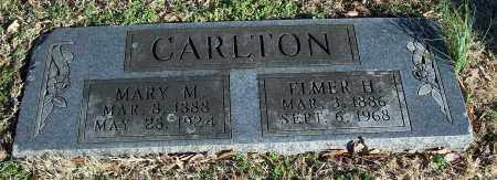 CARLTON, ELMER H. - Washington County, Arkansas | ELMER H. CARLTON - Arkansas Gravestone Photos