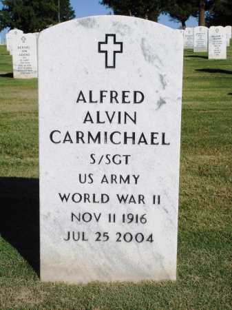 CARMICHAEL  (VETERAN WWII), ALFRED ALVIN - Washington County, Arkansas | ALFRED ALVIN CARMICHAEL  (VETERAN WWII) - Arkansas Gravestone Photos