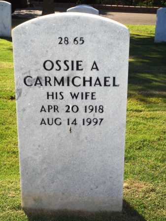 CARMICHAEL, OSSIE A. - Washington County, Arkansas | OSSIE A. CARMICHAEL - Arkansas Gravestone Photos
