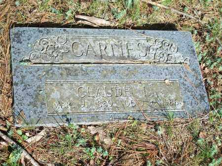 CARNES, CLAUDE E. - Washington County, Arkansas | CLAUDE E. CARNES - Arkansas Gravestone Photos