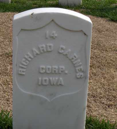 CARNES (VETERAN UNION), RICHARD - Washington County, Arkansas | RICHARD CARNES (VETERAN UNION) - Arkansas Gravestone Photos