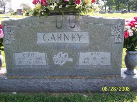 CARNEY, BERTIE - Washington County, Arkansas | BERTIE CARNEY - Arkansas Gravestone Photos
