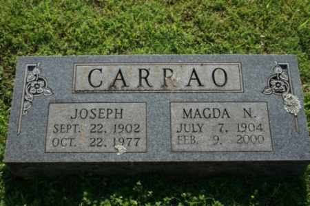 CARRAO, JOSEPH - Washington County, Arkansas | JOSEPH CARRAO - Arkansas Gravestone Photos