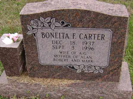 CARTER, BONEITA F. - Washington County, Arkansas | BONEITA F. CARTER - Arkansas Gravestone Photos