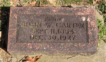 CARTER, JOHN W. - Washington County, Arkansas | JOHN W. CARTER - Arkansas Gravestone Photos