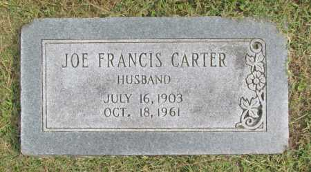CARTER, JOE FRANCIS - Washington County, Arkansas | JOE FRANCIS CARTER - Arkansas Gravestone Photos