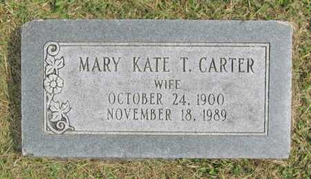 CARTER, MARY KATE - Washington County, Arkansas | MARY KATE CARTER - Arkansas Gravestone Photos