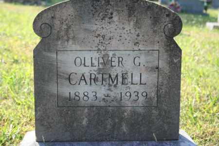 CARTMELL, OLLIVER G. - Washington County, Arkansas | OLLIVER G. CARTMELL - Arkansas Gravestone Photos
