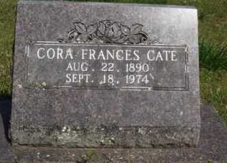 CATE, CORA FRANCES - Washington County, Arkansas | CORA FRANCES CATE - Arkansas Gravestone Photos