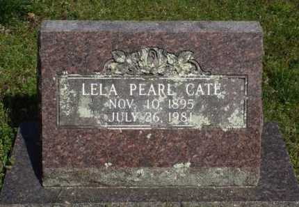 CATE, LELA PEARL - Washington County, Arkansas | LELA PEARL CATE - Arkansas Gravestone Photos