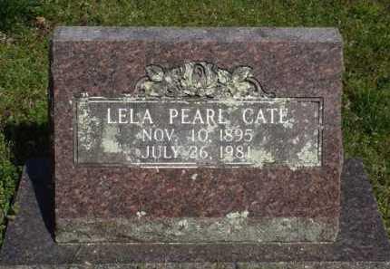 CATE, LELA PEARL - Washington County, Arkansas | LELA PEARL CATE - Arkansas Gravestone Photos