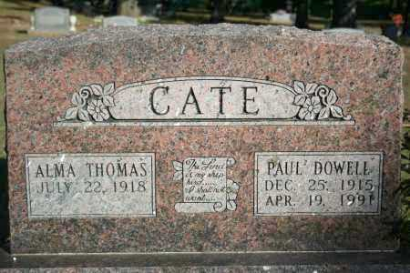 CATE, PAUL DOWELL - Washington County, Arkansas | PAUL DOWELL CATE - Arkansas Gravestone Photos