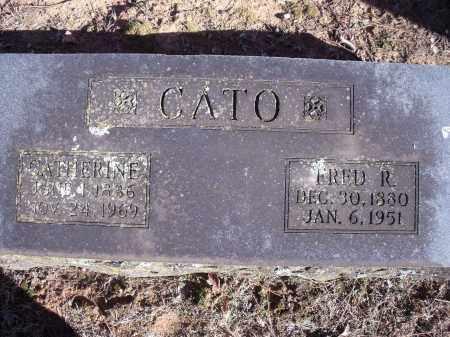 CATO, FRED R. - Washington County, Arkansas | FRED R. CATO - Arkansas Gravestone Photos