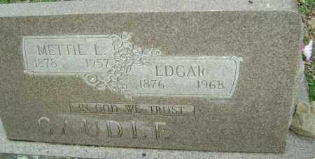 CAUDLE, METTIE L. - Washington County, Arkansas | METTIE L. CAUDLE - Arkansas Gravestone Photos