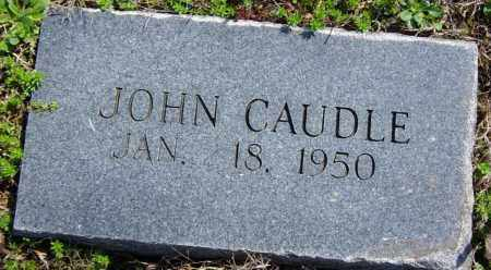 CAUDLE, JOHN - Washington County, Arkansas | JOHN CAUDLE - Arkansas Gravestone Photos
