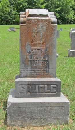 CAUDLE, MATTIE E. - Washington County, Arkansas | MATTIE E. CAUDLE - Arkansas Gravestone Photos