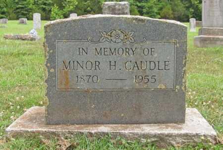 CAUDLE, MINOR H. - Washington County, Arkansas | MINOR H. CAUDLE - Arkansas Gravestone Photos