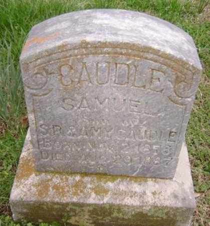 CAUDLE, SAMUEL - Washington County, Arkansas | SAMUEL CAUDLE - Arkansas Gravestone Photos