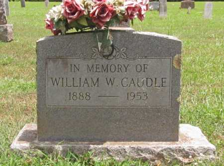 CAUDLE  (VETERAN WWI), WILLIAM W. - Washington County, Arkansas | WILLIAM W. CAUDLE  (VETERAN WWI) - Arkansas Gravestone Photos