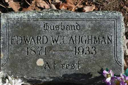 CAUGHMAN, EDWARD W. - Washington County, Arkansas | EDWARD W. CAUGHMAN - Arkansas Gravestone Photos