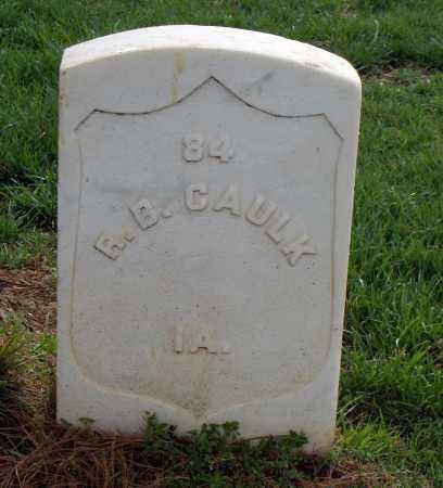 CAULK (VETERAN UNION), R B - Washington County, Arkansas | R B CAULK (VETERAN UNION) - Arkansas Gravestone Photos