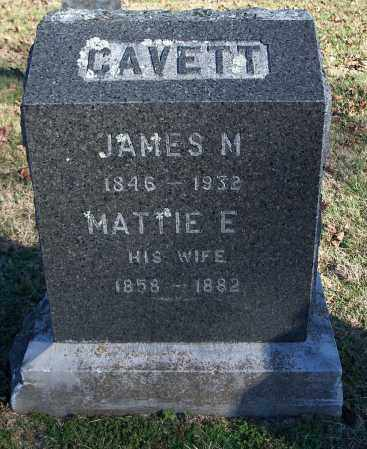 CAVETT, MATTIE E. - Washington County, Arkansas | MATTIE E. CAVETT - Arkansas Gravestone Photos