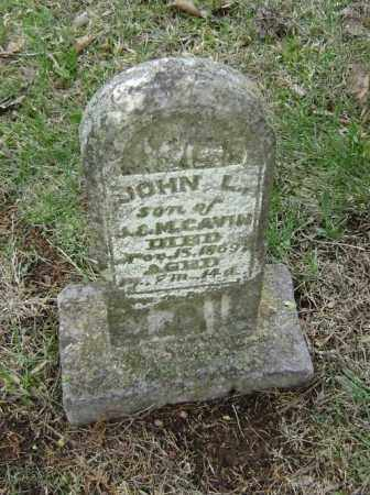 CAVIN, JOHN L. - Washington County, Arkansas | JOHN L. CAVIN - Arkansas Gravestone Photos