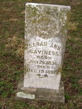 CAVINESS, SARAH ANN - Washington County, Arkansas | SARAH ANN CAVINESS - Arkansas Gravestone Photos