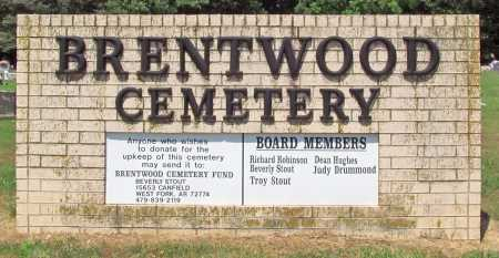 *BRENTWOOD CEMETERY,  - Washington County, Arkansas |  *BRENTWOOD CEMETERY - Arkansas Gravestone Photos