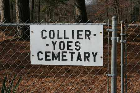 *COLLIER-YOES CEMETERY,  - Washington County, Arkansas |  *COLLIER-YOES CEMETERY - Arkansas Gravestone Photos