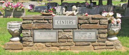 CENTERS, TOMMY W - Washington County, Arkansas | TOMMY W CENTERS - Arkansas Gravestone Photos