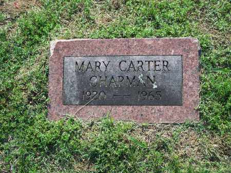 CARTER CHAPMAN, MARY - Washington County, Arkansas | MARY CARTER CHAPMAN - Arkansas Gravestone Photos
