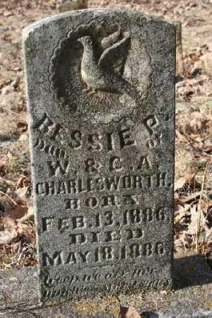 CHARLESWORTH, BESSIE P - Washington County, Arkansas | BESSIE P CHARLESWORTH - Arkansas Gravestone Photos