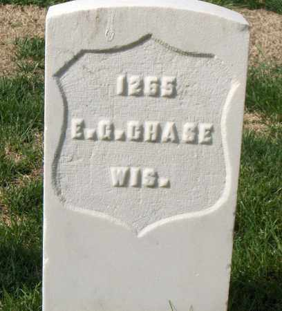 CHASE (VETERAN UNION), ELDRIDGE G - Washington County, Arkansas | ELDRIDGE G CHASE (VETERAN UNION) - Arkansas Gravestone Photos