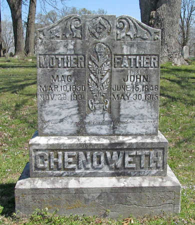 "CHENOWETH, MARGARET JANE ""MAG"" - Washington County, Arkansas 