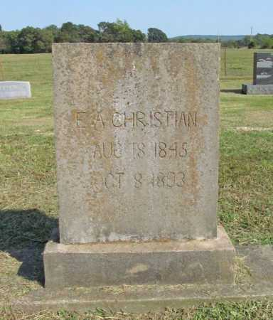 CARR CHRISTIAN, ELIZABETH - Washington County, Arkansas | ELIZABETH CARR CHRISTIAN - Arkansas Gravestone Photos