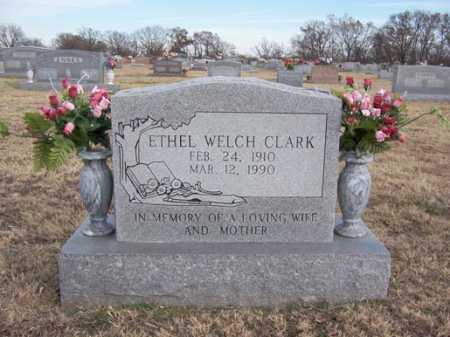 WELCH CLARK, ETHEL - Washington County, Arkansas | ETHEL WELCH CLARK - Arkansas Gravestone Photos