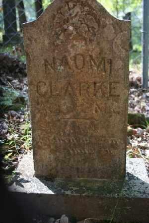 CLARKE, NAOMI - Washington County, Arkansas | NAOMI CLARKE - Arkansas Gravestone Photos