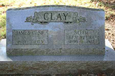 CLAY, JAMES CARLETON, SR. - Washington County, Arkansas | JAMES CARLETON, SR. CLAY - Arkansas Gravestone Photos