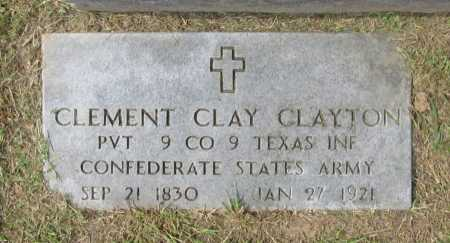 CLAYTON (VETERAN CSA), CLEMENT CLAY - Washington County, Arkansas | CLEMENT CLAY CLAYTON (VETERAN CSA) - Arkansas Gravestone Photos