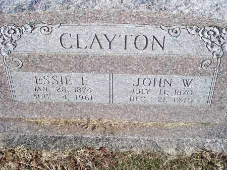 CLAYTON, JOHN W. - Washington County, Arkansas | JOHN W. CLAYTON - Arkansas Gravestone Photos