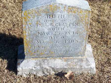 CLAYTON, RUTH - Washington County, Arkansas | RUTH CLAYTON - Arkansas Gravestone Photos
