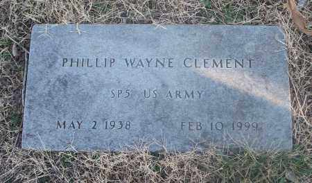 CLEMENT (VETERAN), PHILLIP WAYNE - Washington County, Arkansas | PHILLIP WAYNE CLEMENT (VETERAN) - Arkansas Gravestone Photos