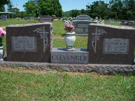 CLEVENGER, CLIFFORD WILLIAM, SR. - Washington County, Arkansas | CLIFFORD WILLIAM, SR. CLEVENGER - Arkansas Gravestone Photos