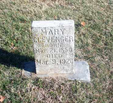 CLEVENGER, MARY - Washington County, Arkansas | MARY CLEVENGER - Arkansas Gravestone Photos