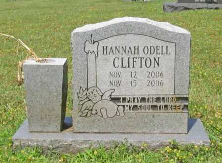 CLIFTON, HANNAH ODELL - Washington County, Arkansas | HANNAH ODELL CLIFTON - Arkansas Gravestone Photos