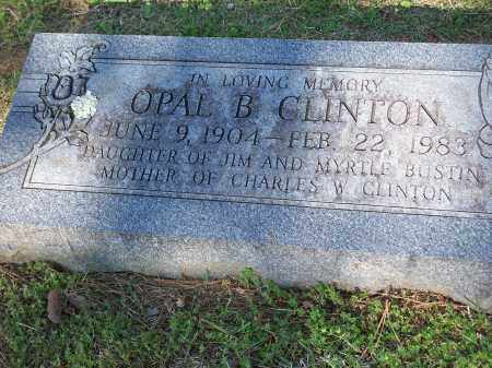 BUSTIN CLINTON, OPAL - Washington County, Arkansas | OPAL BUSTIN CLINTON - Arkansas Gravestone Photos
